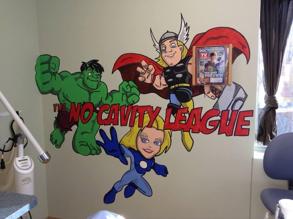 Introducing the No Cavity League!